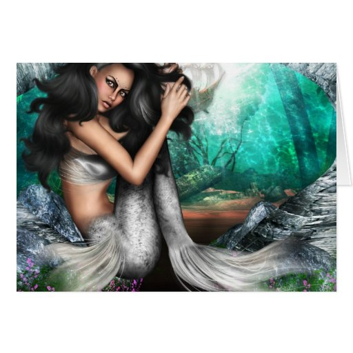 Mermaid Allure Greeting Card