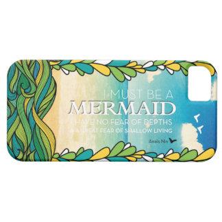 Mermaid - Anais Nin iPhone 5 Cases