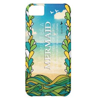 Mermaid - Anais Nin iPhone 5C Case