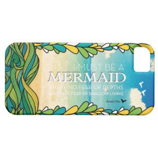 Mermaid - Anais Nin iPhone 5 Case
