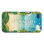 Mermaid - Anais Nin iPhone 4/4S Cases
