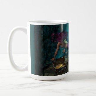 Mermaid and Buried Treasure Mug