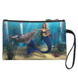Mermaid and Dolphin Wristlets