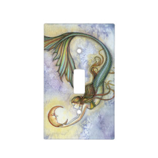 Mermaid Light Switch Covers Zazzle