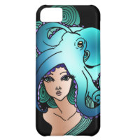 mermaid and octopus iPhone 5C covers