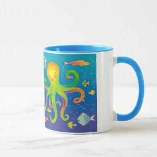 Mermaid and Octopus Mug