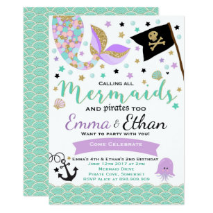 pirate birthday invitations zazzle