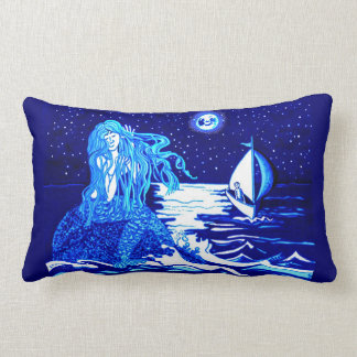 Mermaid and sailor pillow