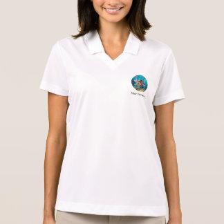 Mermaid and Sea Lily Polo Shirt