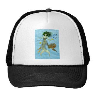Mermaid and Sea Turtle Hats