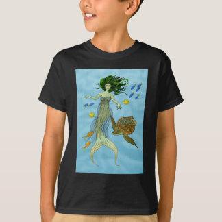 Mermaid and Sea Turtle T-Shirt