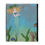 Mermaid and seal iPad cases