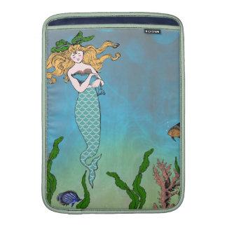 Mermaid and seal MacBook air sleeves