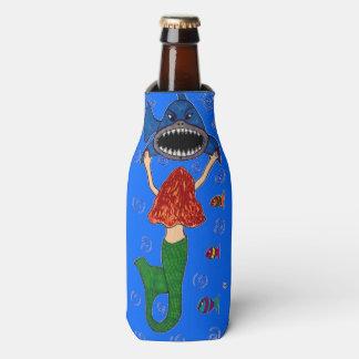 Mermaid and Shark Bottle Cooler