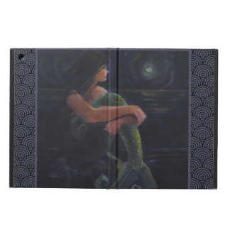 Mermaid and the Moon iPad Air Cases
