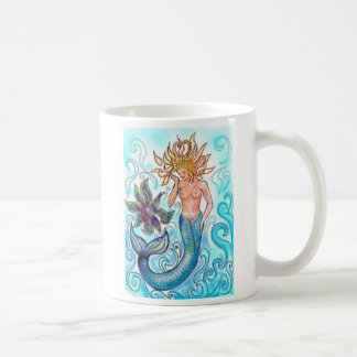 Mermaid and The Pearl Coffee Mug