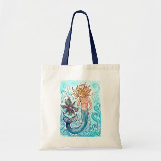 Mermaid and The Pearl Tote Bag