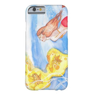 Mermaid and the Sea Fairies Barely There iPhone 6 Case