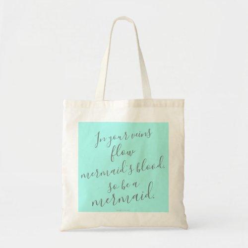 Mermaid Anton Chekhov Quote Tote Bag
