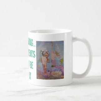 Mermaid art designs by Penfield Hondros Coffee Mug