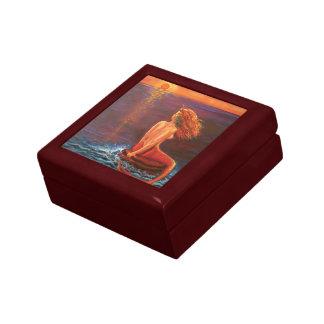"""Mermaid Art Gift Box - """"Watching The Sunset"""""""