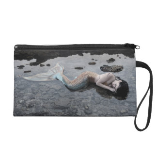 Mermaid at Low Tide Wristlet Purse