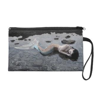 Mermaid at Low Tide Wristlet Purse