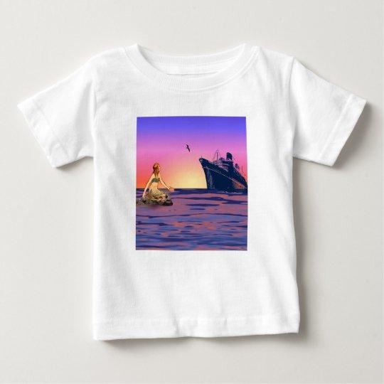 Mermaid at sunset baby T-Shirt