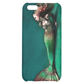 Mermaid at the bottom of the Sea iPhone 5C Cases
