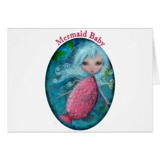Mermaid Baby Card