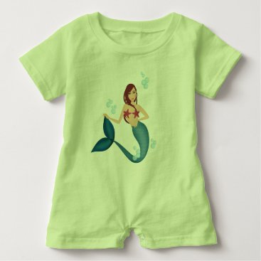 Mermaid Baby Romper