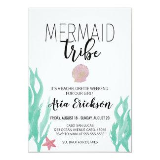 Mermaid Bachelorette Invitation
