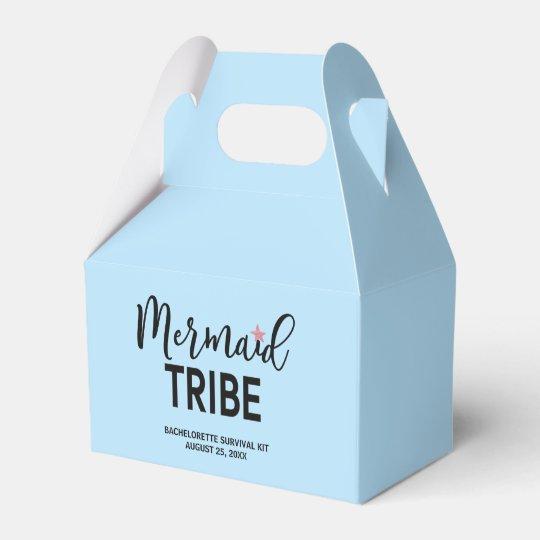 Mermaid Bachelorette Survival Kit Box