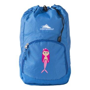 Ocean Themed Mermaid Backpack