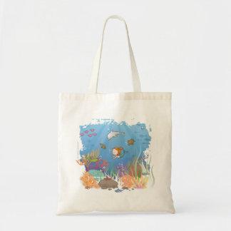 Mermaid Budget Tote Bag