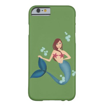 Mermaid Barely There iPhone 6 Case