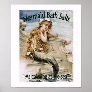 Mermaid Bathroom Decor Zazzle