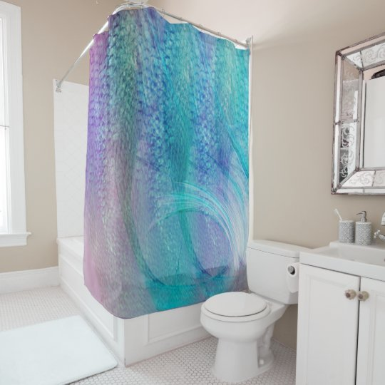 Mermaid Bathroom Decor Shower Curtain