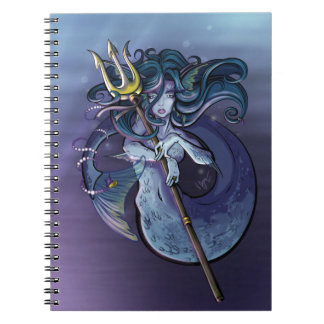 Mermaid Beautiful Art Illustration Notebook