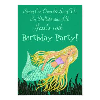 Mermaid (Birthday) Card