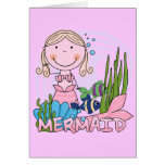 Mermaid - Blond Tshirts and Gifts Cards