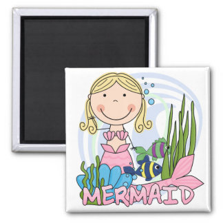 Mermaid - Blond Tshirts and Gifts Magnet