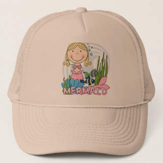 Mermaid - Blond Tshirts and Gifts Trucker Hat