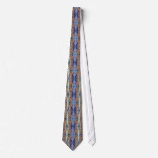 Mermaid Blue Eucalyptus Tie by deprise brescia