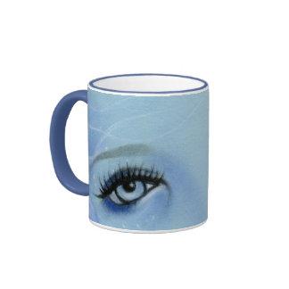 Mermaid Blue Eyes Mug