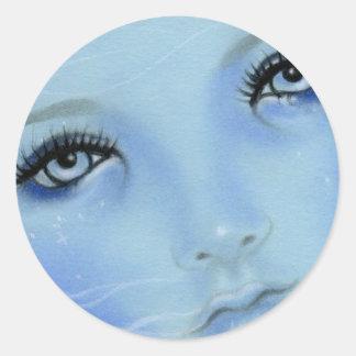 Mermaid Blue Eyes Sticker