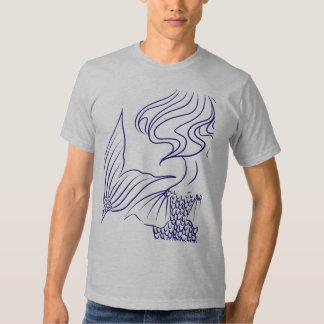 Mermaid Blue T Shirt
