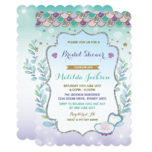 Beach Bridal Shower Invitations Announcements Zazzle