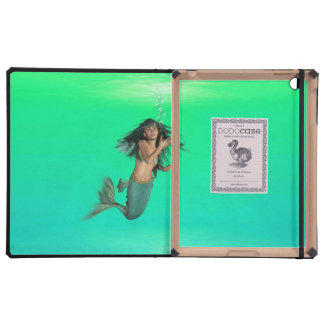 Mermaid Bubbles Case For iPad