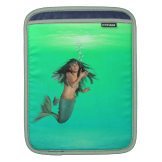 Mermaid Bubbles iPad Sleeve